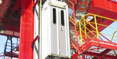 Лифты для кранов ZPMC
