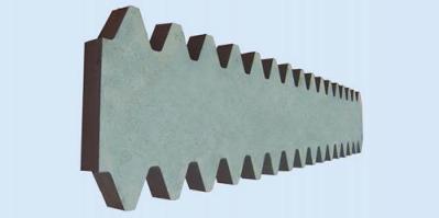 Рейки зубчатые ZPMC
